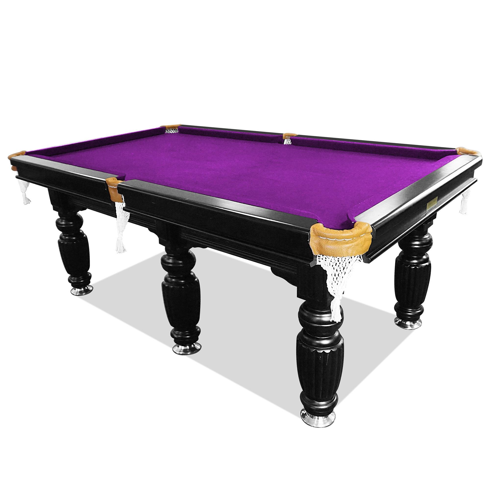 10ft luxury purple slate pool/snooker/billiard table
