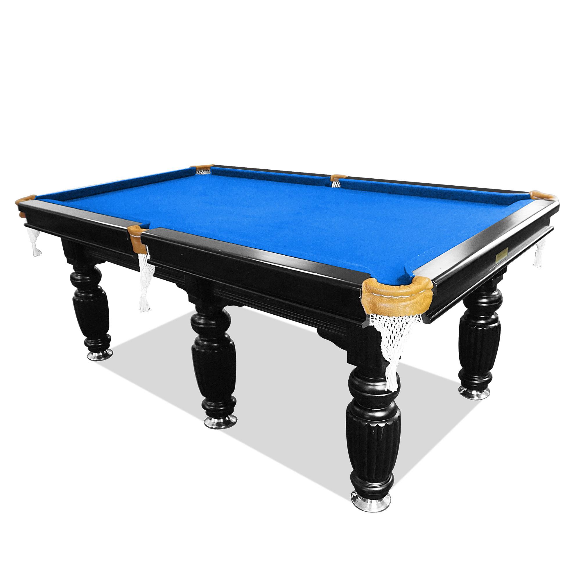 10ft luxury blue slate pool table